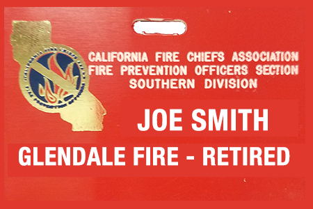 Replacement Badge